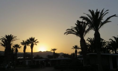 Zdjęcie GRECJA / Kreta / okolice Heraklionu / zachód słońca