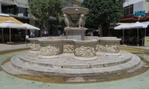 Zdjęcie GRECJA / Kreta / Heraklion / fontanna Morosiniego