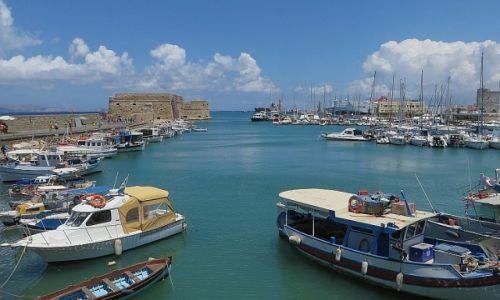 Zdjęcie GRECJA / Kreta / Heraklion / port wenecki