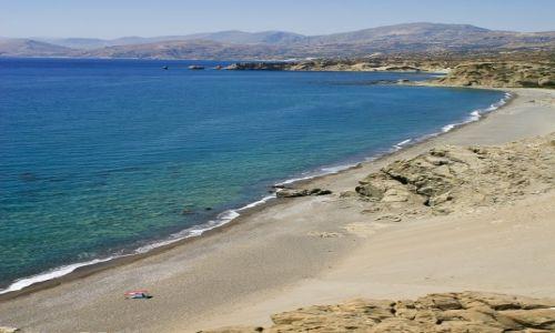 Zdjęcie GRECJA / Kreta / zatoka Agios Pavlos / Na różowo