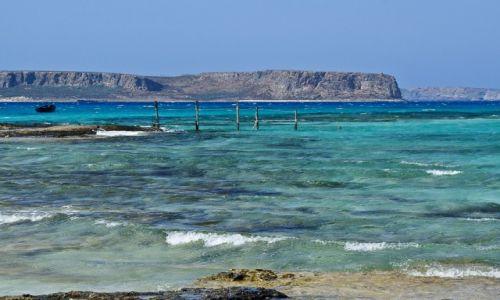 Zdjęcie GRECJA / Kreta / Balos / Pomost