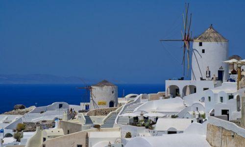 Zdjęcie GRECJA / Santorini / Oia / Wiatraki