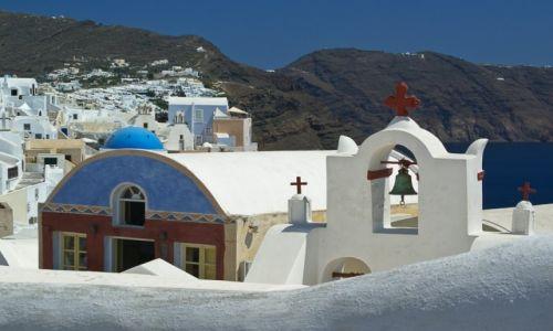Zdjęcie GRECJA / Santorini / Thira / Wszędzie kapliczki