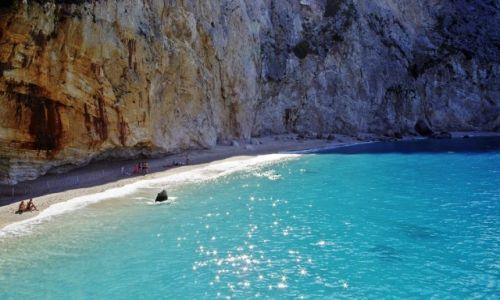 Zdjecie GRECJA / Wyspy Jońskie / Lefkada / Lefkada, Plaża Porto Katsiki
