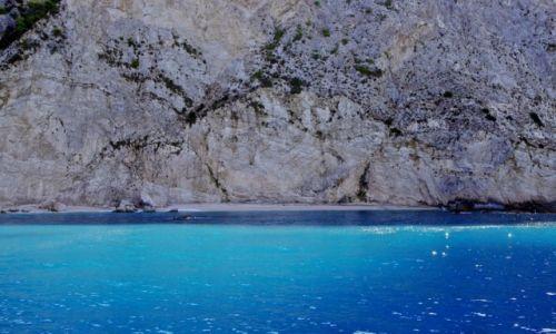Zdjecie GRECJA / Wyspy Jońskie / Lefkada / Plaża Porto Katsiki