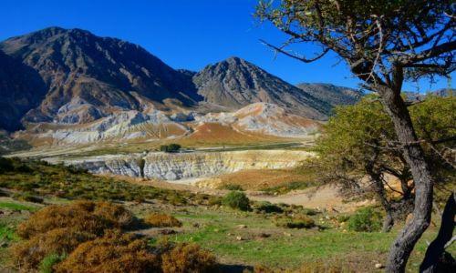 Zdjecie GRECJA / Nisyros / Nisyros / dolina wulkanu Stefanos