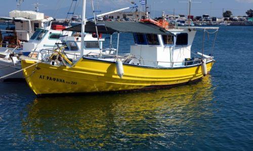 Zdjęcie GRECJA / Kalimnos / Pothia / port
