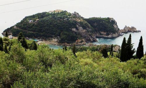 Zdjęcie GRECJA / Morze Jońskie / Korfu / widok na Paleokastritsa
