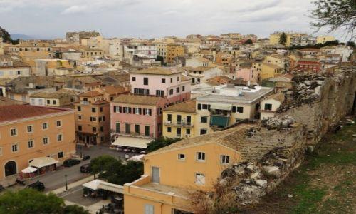 Zdjęcie GRECJA / Korfu / Kerkyra / panorama Kerkyry