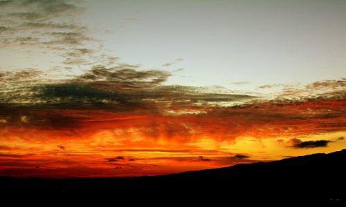 Zdjęcie GRECJA / Kos / Marmari / ogniste niebo