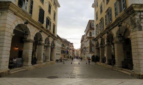 Zdjęcie GRECJA / Korfu / Kerkyra / centrum Kerkyry