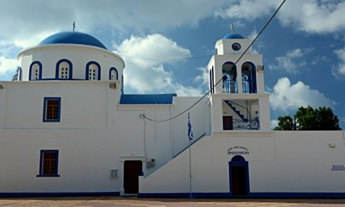 Zdjęcie GRECJA / Kos / Kardamena / świątynia