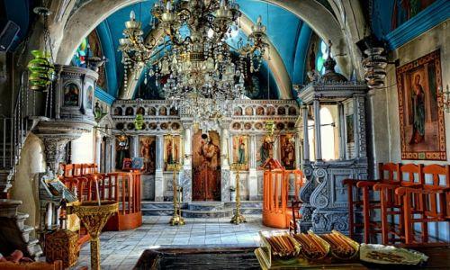 Zdjęcie GRECJA / Nisyros / Nikia / wnętrze klasztoru
