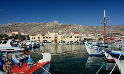 Zdjęcie GRECJA / Kalimnos / Pothia / Pothia port