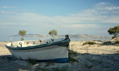 Zdjęcie GRECJA / Kos / Marmari / łódka