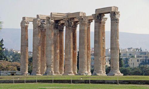 Zdjęcie GRECJA / Attyka / Ateny / Świątynia Zeusa Olimpijskiego