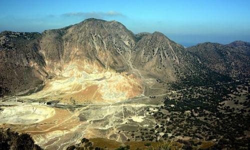 Zdjęcie GRECJA / Dodekanez / Nisyros / dolina wulkanu Stefanos