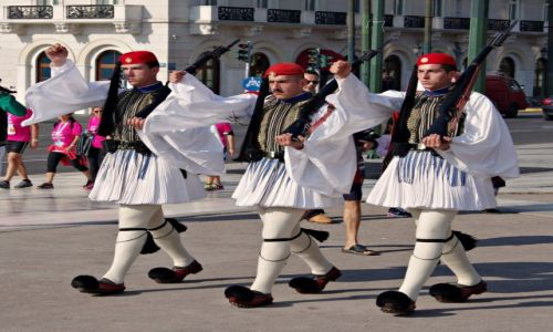 GRECJA / Attyka / Ateny, plac Syntagma / Idzie zmiana...
