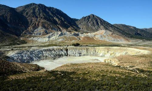 Zdjecie GRECJA / Dodekanez / Nisyros / krater wulkanu Stefanos