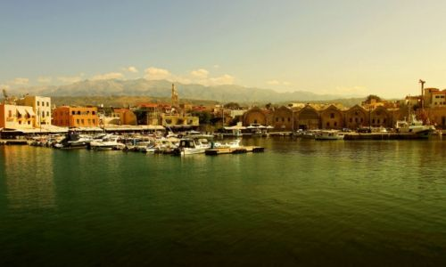 Zdjęcie GRECJA / Kreta zach. / Chania / Nabrzeże Portowe