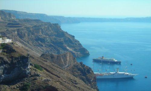 GRECJA / Santorini / Santorini / Oczekiwanie