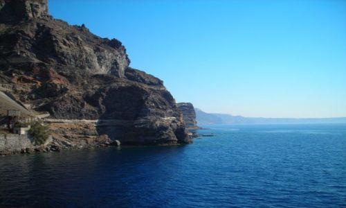 GRECJA / Santorini / Santorini / Klif