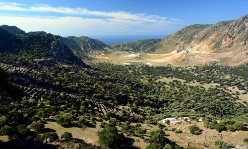 Zdjecie GRECJA / Dodekanez / Nisyros / dolina wulkanu Stefanos