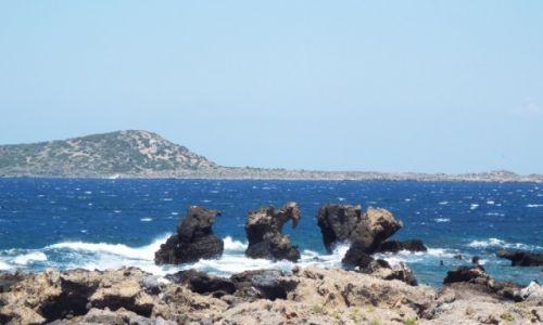 Zdjecie GRECJA / Kreta / Elefonissi / skalne slonie