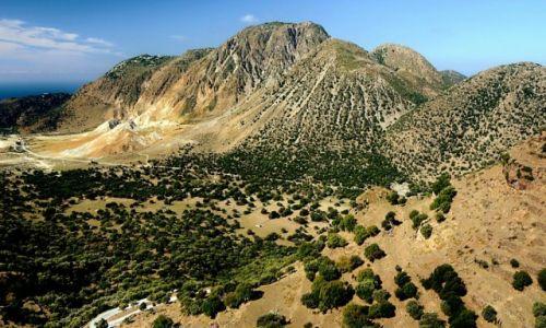 Zdjecie GRECJA / Dodekanez / Nisyros / dolina