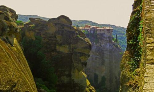 Zdjęcie GRECJA / FTHIOTIDA / Meteory / Klasztor w górach