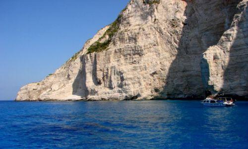 Zdjęcie GRECJA / Zakyntos / Zakyntos / zatoka Wraku