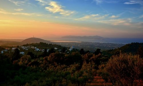 Zdjęcie GRECJA / Kos / Zia / widok z wioski Zia