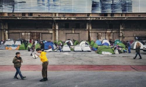 Zdjęcie GRECJA / Attyka / Pireus / Obóz