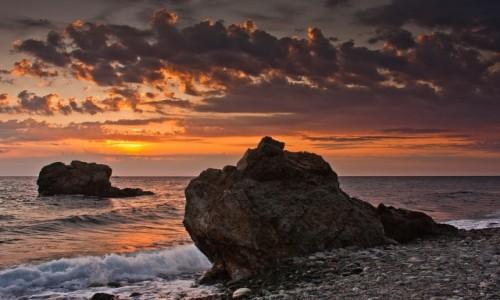 Zdjęcie GRECJA / Tesalia / Kokkino Nero / poranek nad morzem Egejskim