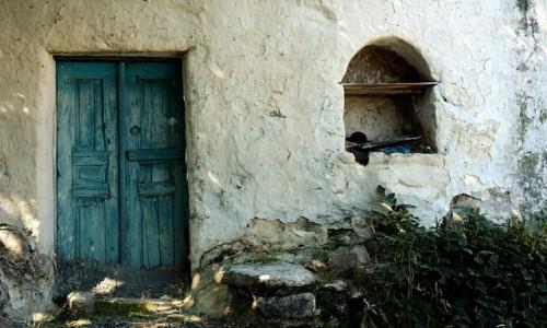 Zdjecie GRECJA / Kos / Zia / opuszczony dom