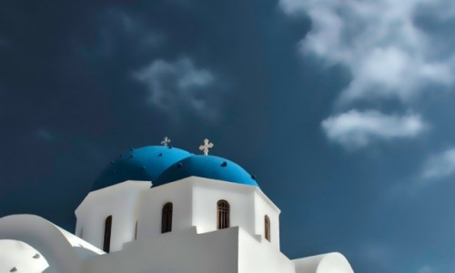 Zdjecie GRECJA / Santorini / Perissa / Perissa