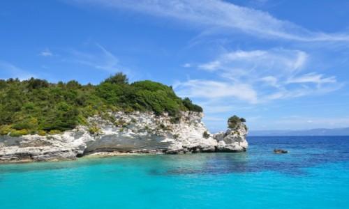 Zdjecie GRECJA / - / Korfu  / Antipaxos