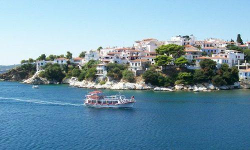 Zdjecie GRECJA / brak / Skiathos / Wyspa Skiathos