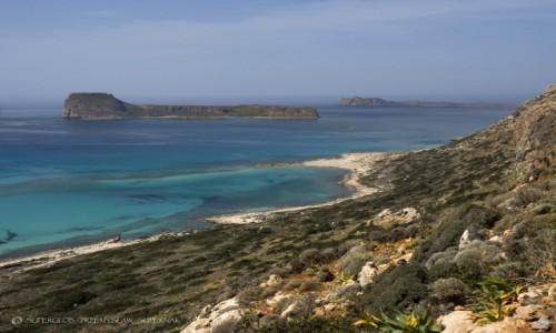 Zdjecie GRECJA / Kreta / Półwysep Gramvousa / Laguna Balos 1