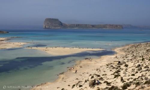 Zdjecie GRECJA / Kreta / Pólwysep Gramvousa / Laguna Balos 2