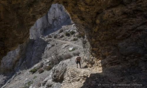 Zdjecie GRECJA / Kreta / Góra Białe (Lefka Ori) / W drodze na Gingilos