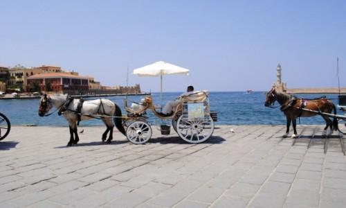 Zdjecie GRECJA / Kreta / Chania Port / W oczekiwaniu n
