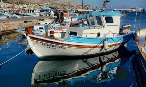 GRECJA / Kalimnos / Pothia / port