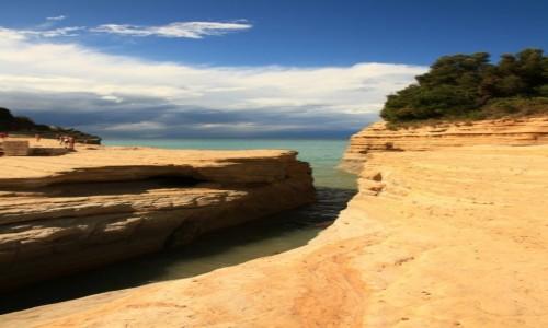 Zdjęcie GRECJA / Korfu / Sidari / Skaliste plaże