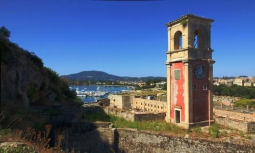 Zdjęcie GRECJA / Korfu / Stara Forteca / Wieża strażnicza