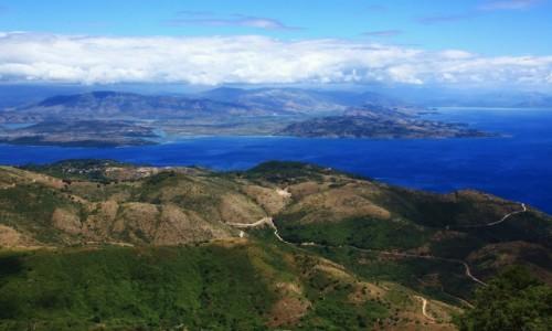 Zdjęcie GRECJA / Korfu / Pantokrator / Podglądanie Albanii