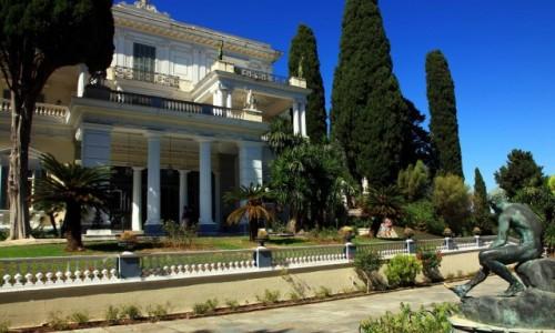 GRECJA / Korfu / Gastouri / Achilleion, pałac Cesarzowej Sissi