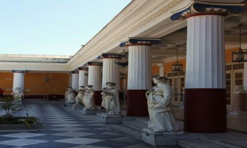 Zdjecie GRECJA / Korfu / Achilleion, pa�ac Cesarzowej Sissi / Z �ycia muz