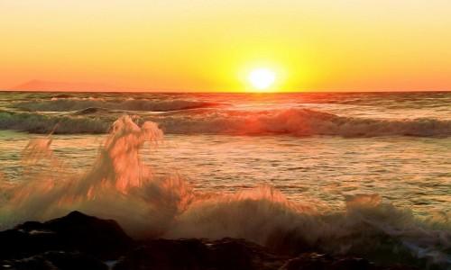 Zdjecie GRECJA / Korfu / Logas Beach / Słoneczny plusk...