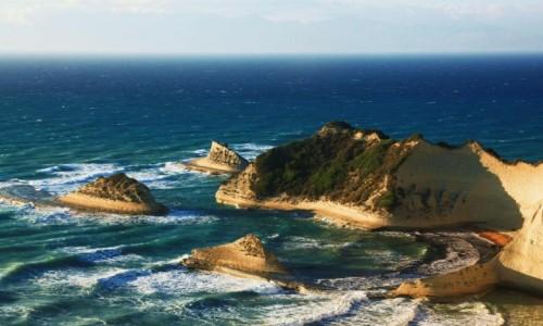 Zdjęcie GRECJA / Korfu / Cape Drastis / Dzieło natury